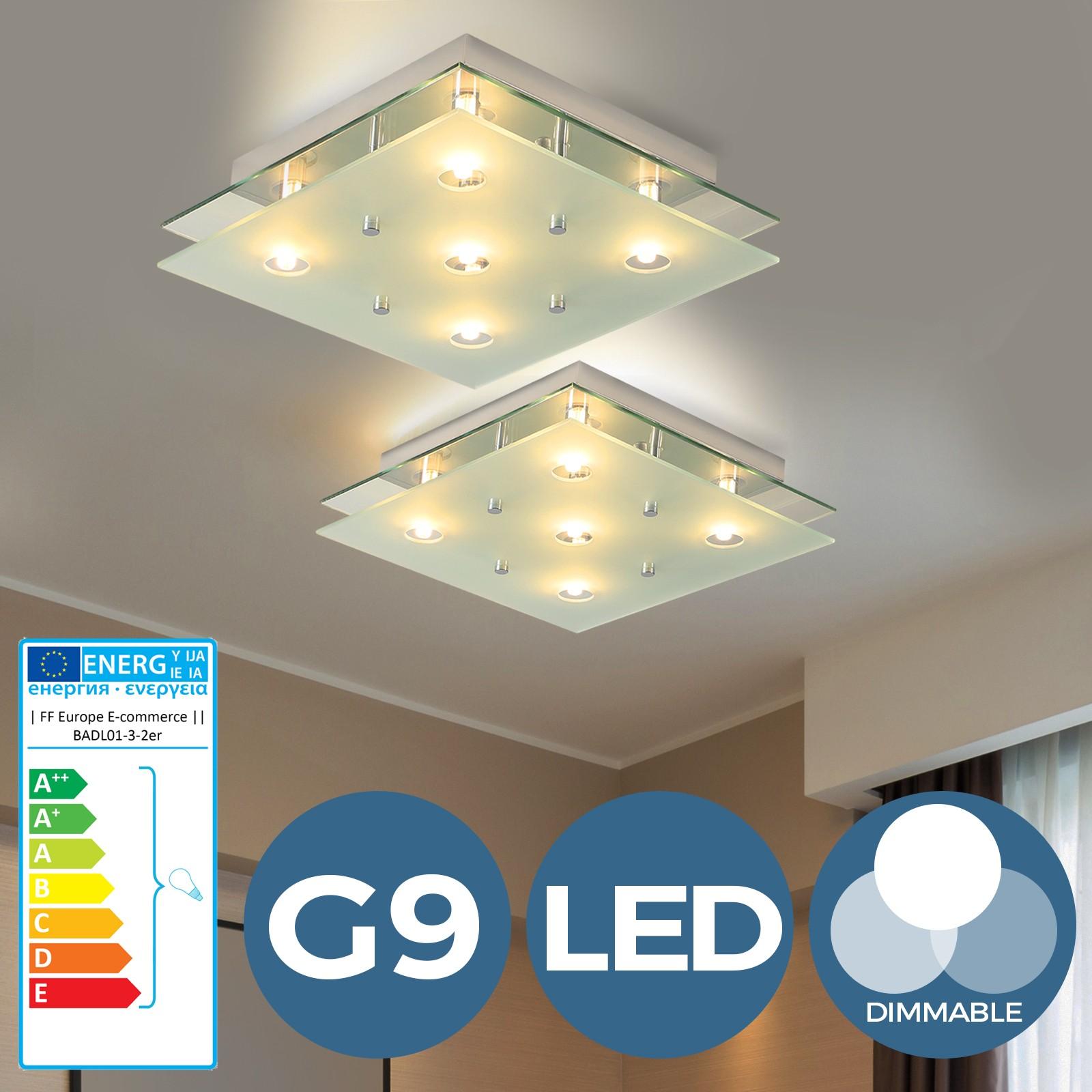 Lampe Plafond Salon Design détails sur led plafonnier lampe de plafond lampe murale lustre applique  moderne dimmable