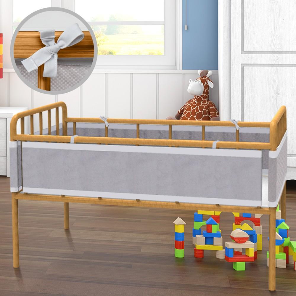 Babybettnestchen Bettkopfschutz Betteinlage Schutzausrüstung für Babys