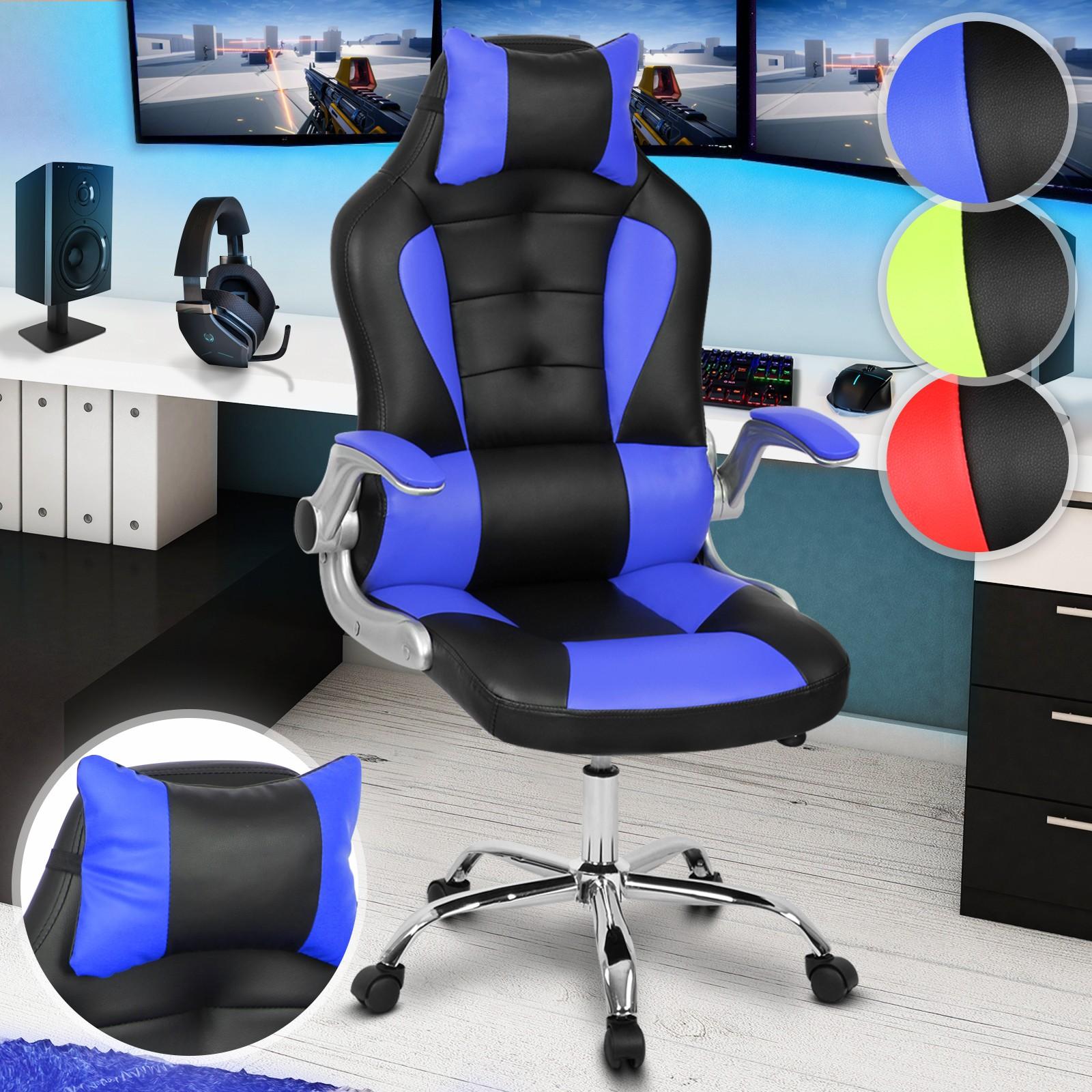 Sedie Regolabili Sedia Da Ufficio.Sedia Da Gioco Gaming Ufficio Ergonomica Poltrona Girevole Altezza