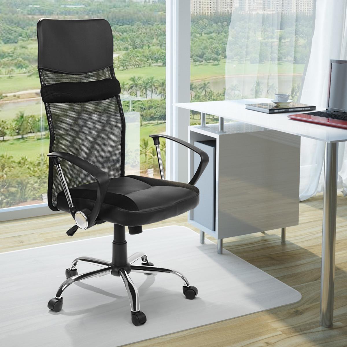 Sedia da ufficio poltrona da scrivania girevole altezza for Sedia da scrivania design