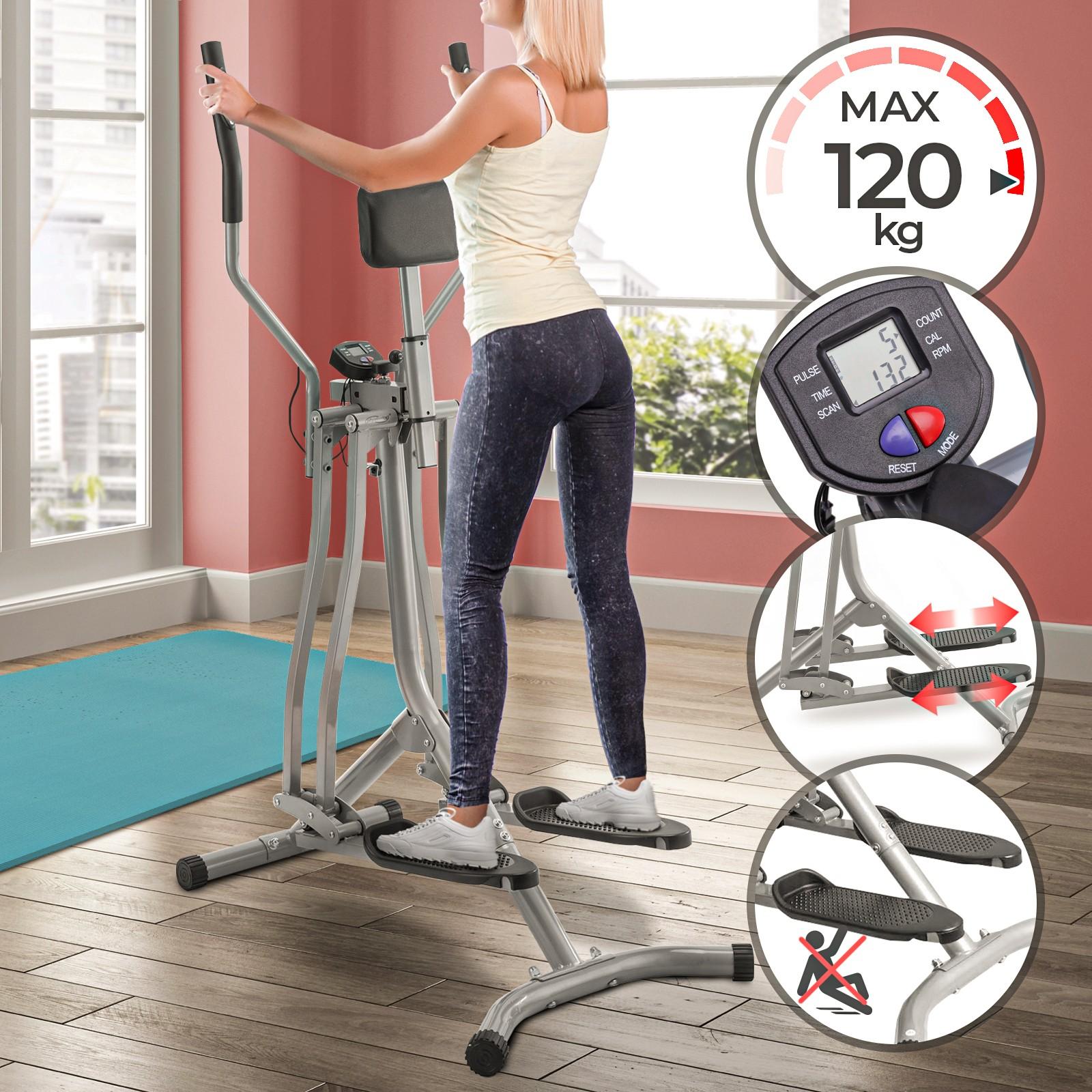B-WARE Crosstrainer Ergometer Cardio Stepper Fitness Ellipsentrainer Puls