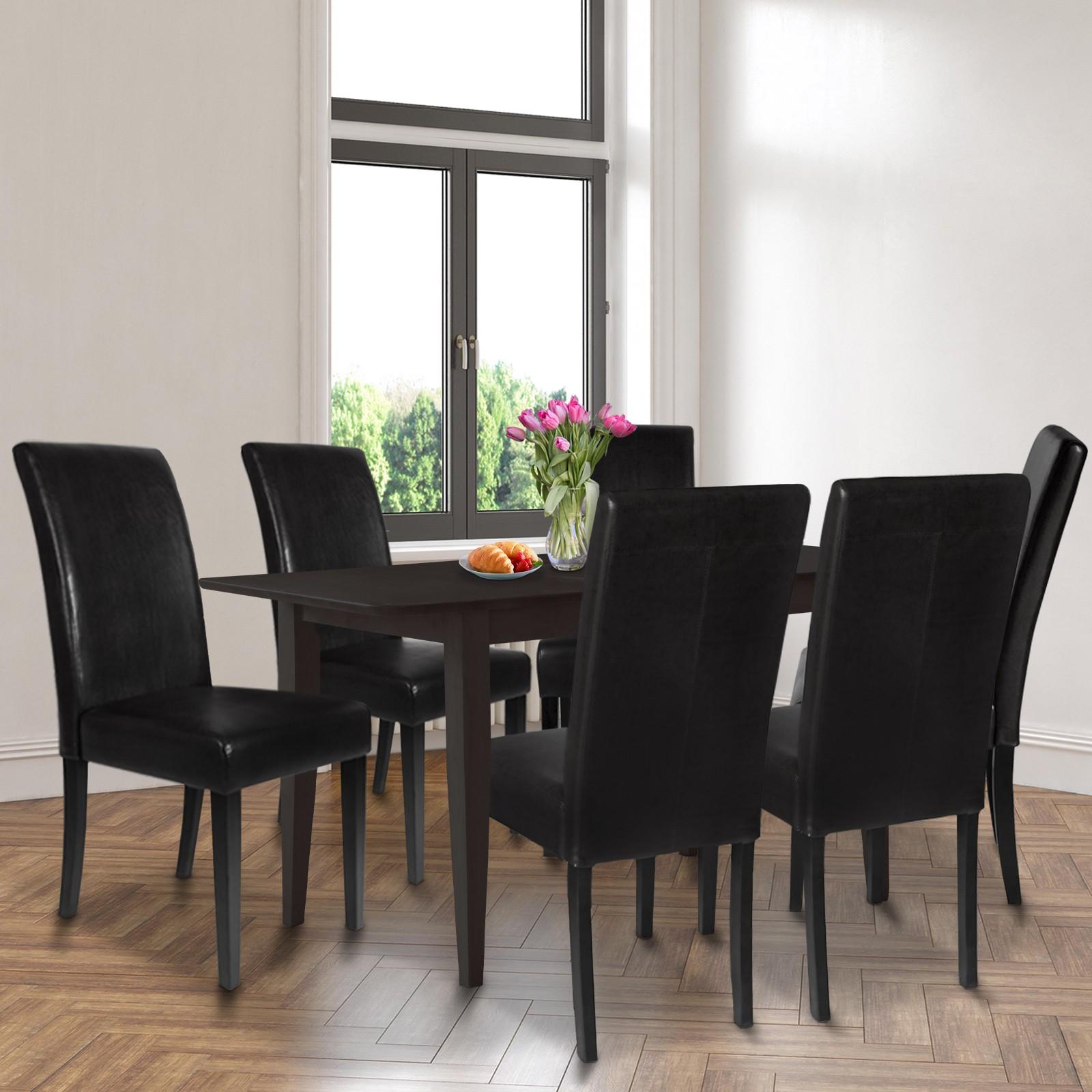 Dettagli su Sedia per Sala da Pranzo Cucina Soggiorno Ristorante Colore e Set a Scelta