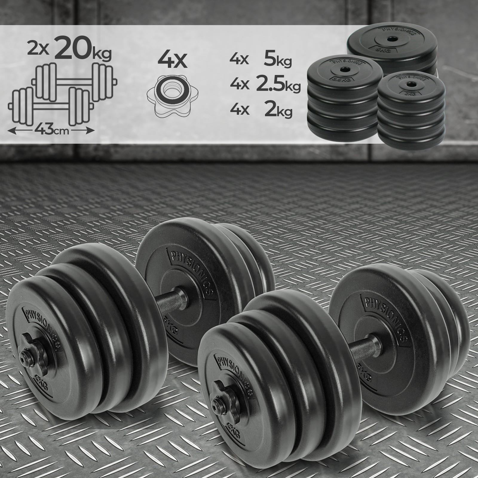Vinyle haltères main poids femme haltère set accueil gym fitness training