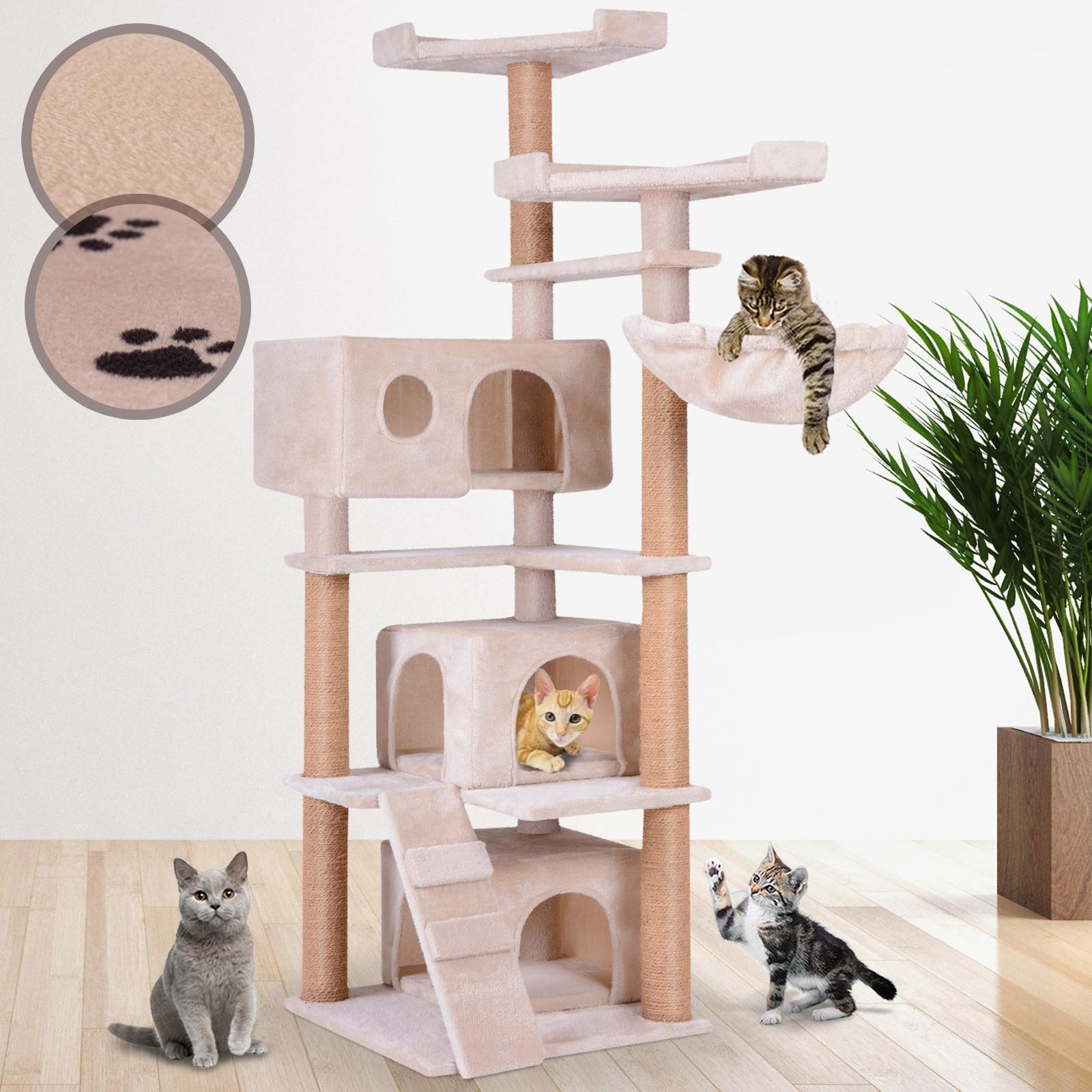 arbre chat petit griffoir arbre de jeu griffoir grattoir. Black Bedroom Furniture Sets. Home Design Ideas