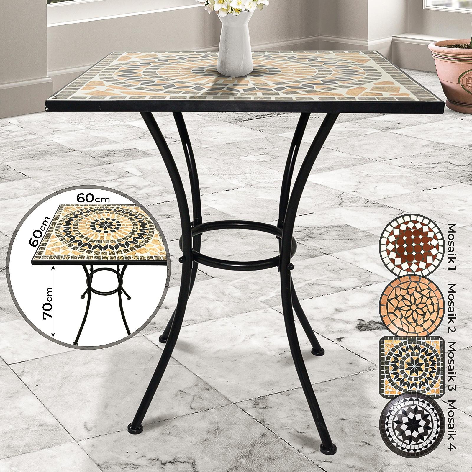 Arredamento da esterno Tavolo Mosaico da Giardino Tavolino ...