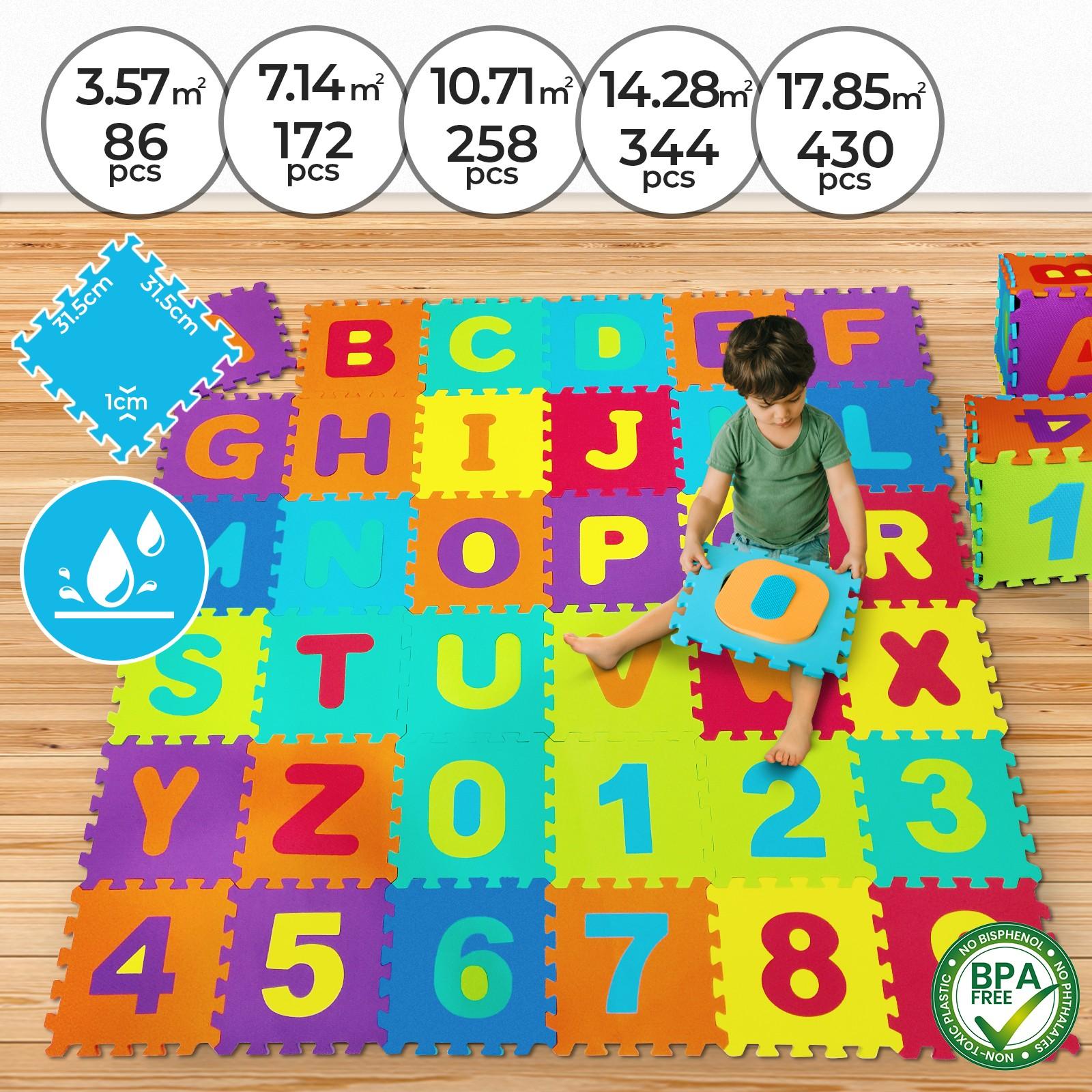 Sol Chambre D Enfant détails sur dalles puzzle en mousse eva tapis de jeu sol pour bébé enfant  86 - 430 pièces