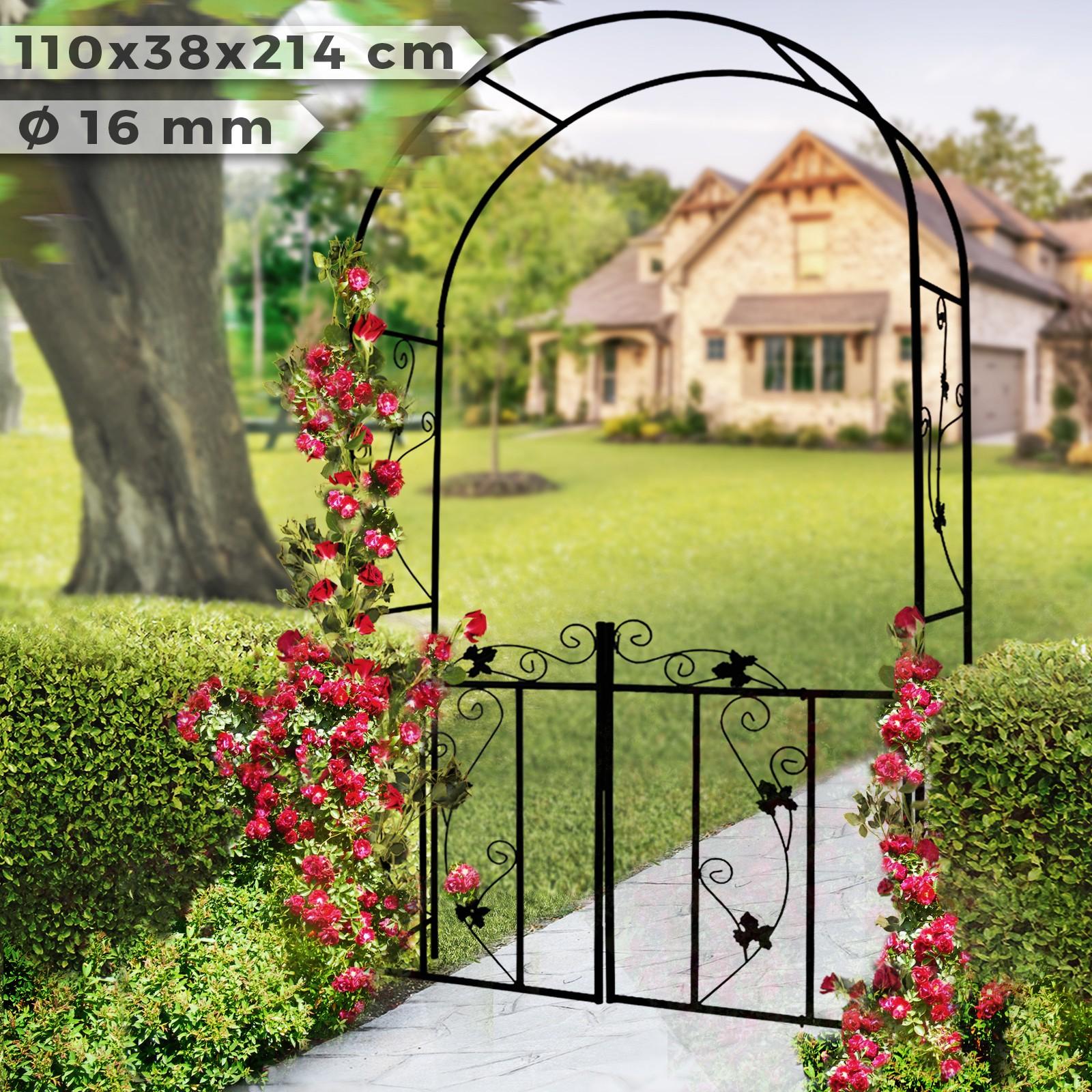 Arco Per Porta dettagli su arco per rose fiori supporto per piante rampicanti decorativo  arredo da giardino