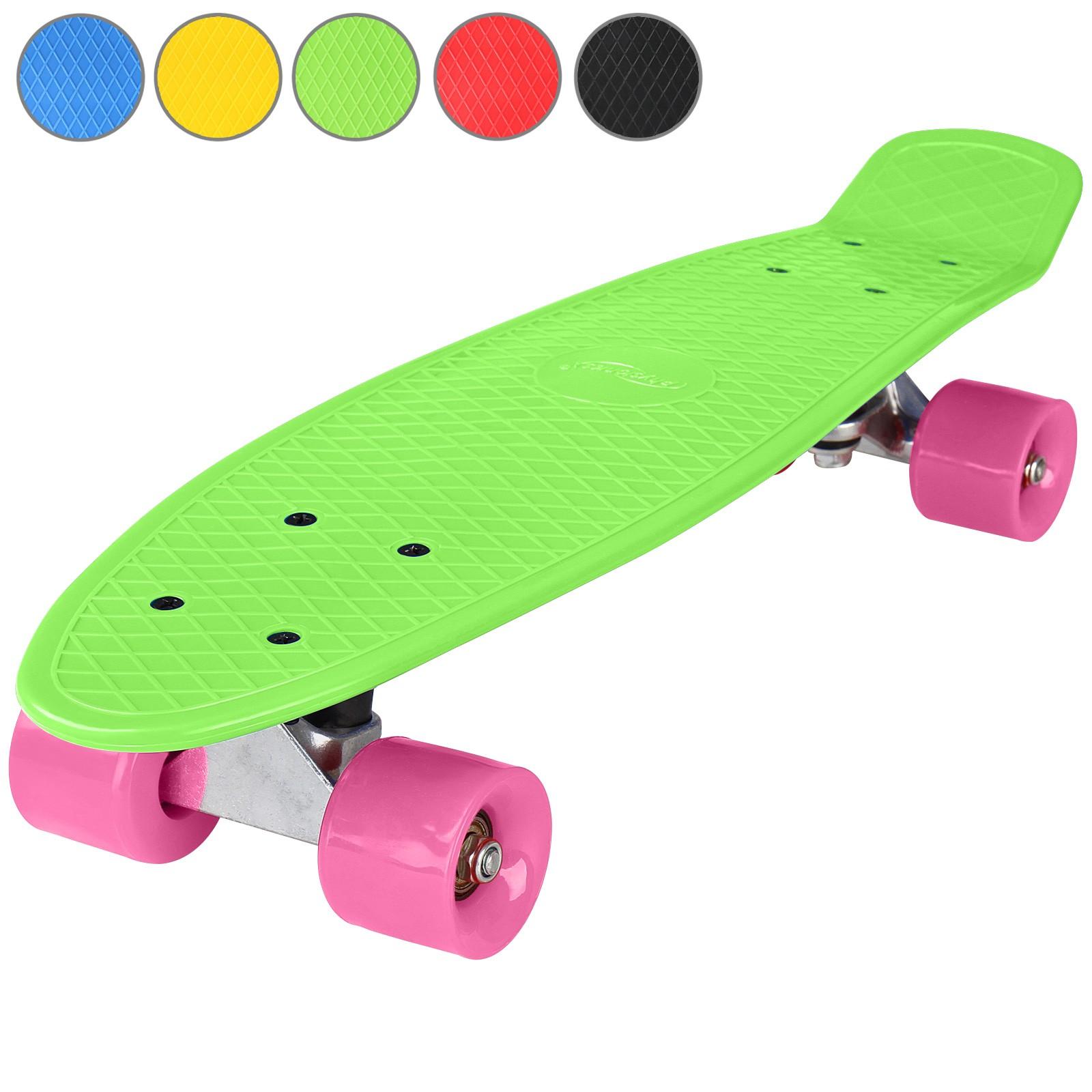 "22/"" 57cm Skateboard Kinder Komplettboard Mini Cruiser Board Pennyboard ABEC 5"