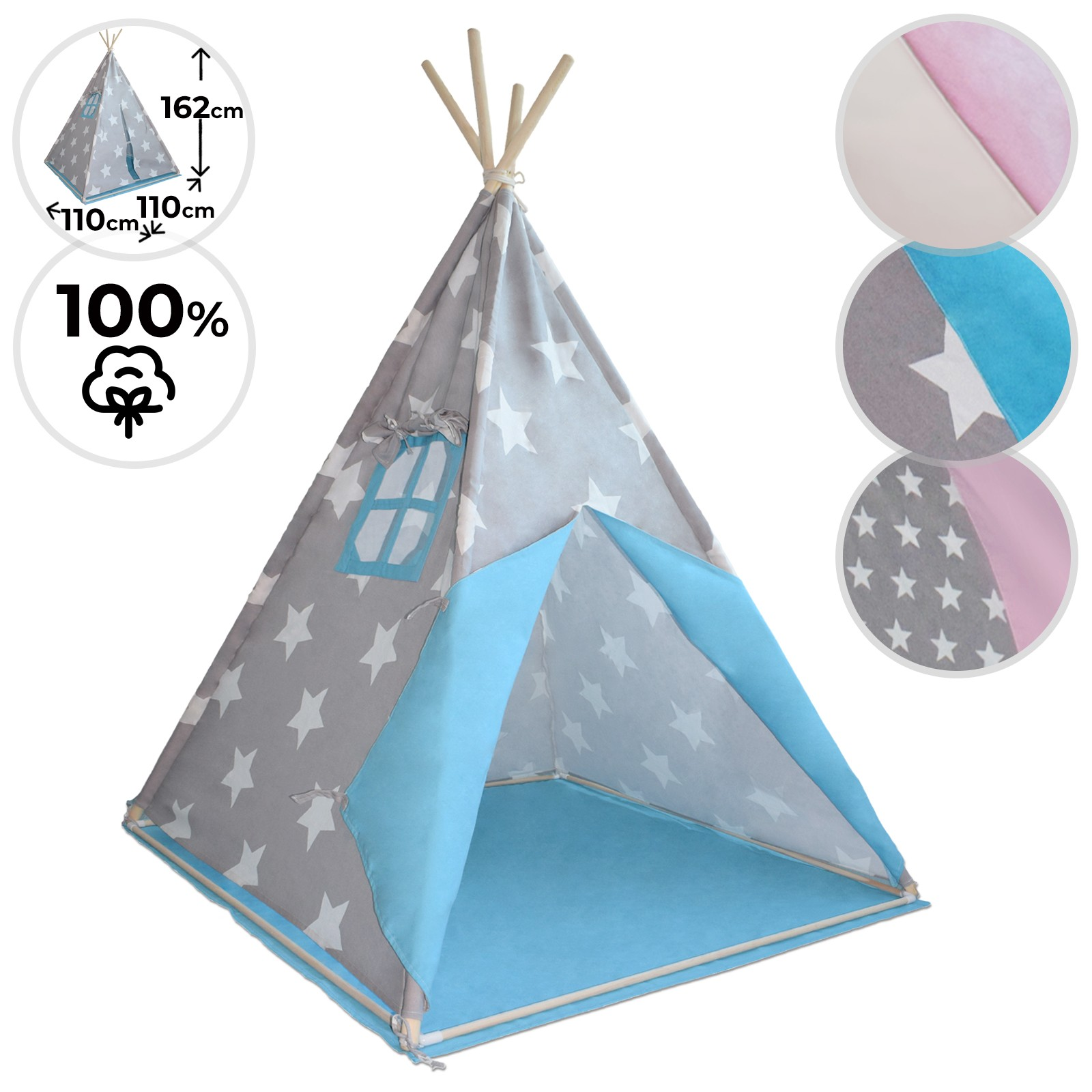 Tenda Indiani Fai Da Te dettagli su tenda teepee indiana e amaca per bambini da gioco nido altalena  sospesa cotone