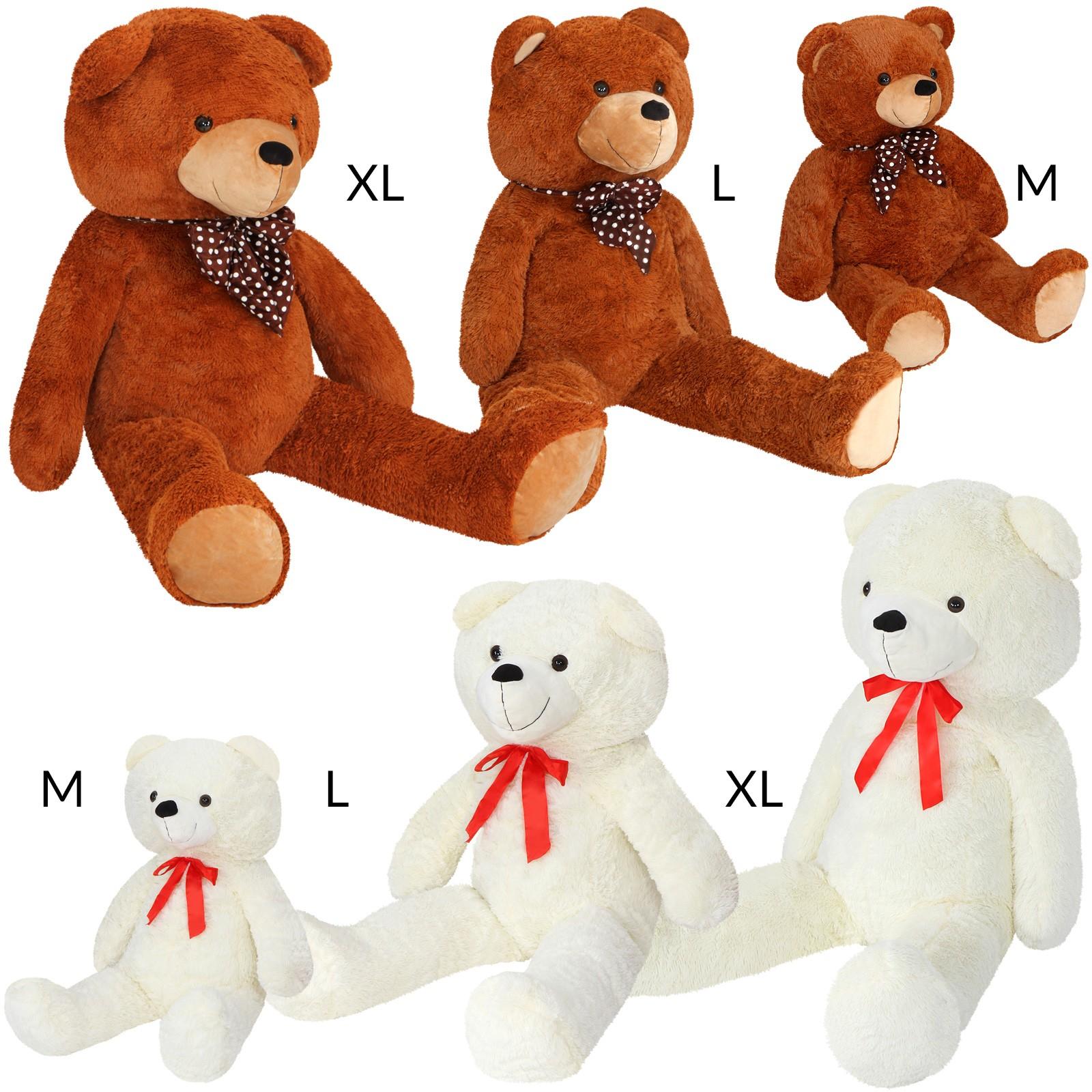 Großer Kuschelbär | Stofftier | Plüschbär | Teddy | Größenwahl ...